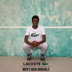 Оферти за Lacoste в каталога Lacoste от ( Остават 25 дни)