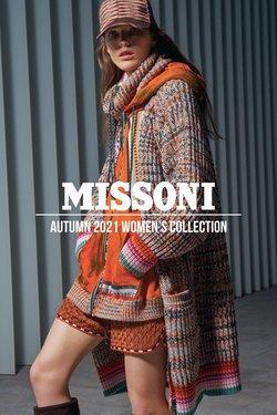 Оферти за Missoni в каталога Missoni от ( Повече от 1 месец)