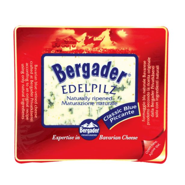 Оферта на Синьо сирене BERGADER EDELPILZ 50% 100 г за 3,59 лв.