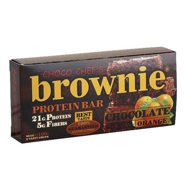 Оферта на Протеинов бар BROWNIE портокал 100 г за 4,39 лв.