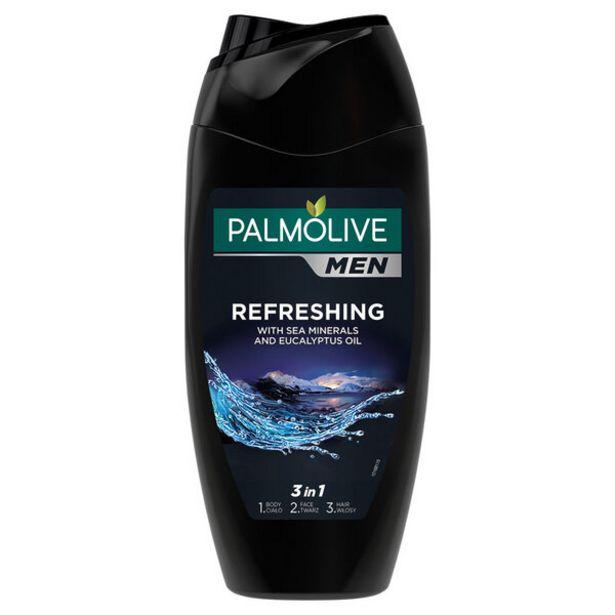Оферта на Душ гел PALMOLIVЕ Men Refreshing 250 мл за 4,39 лв.