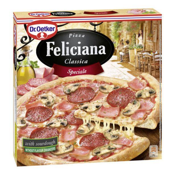 Оферта на Замразена пица FELICIANA специале пица 335гр за 4,39 лв.
