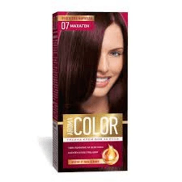 Оферта на Боя за коса АROMA Color No07 Махагон за 2,99 лв.