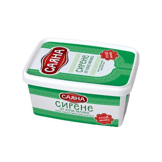 Оферта на Козе сирене САЯНА кутия 400 г за 5,59 лв.