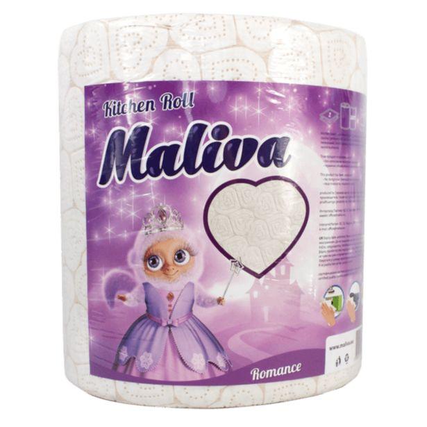 Оферта на Кухненска ролка MALIVA Romance двупластова за 5,99 лв.