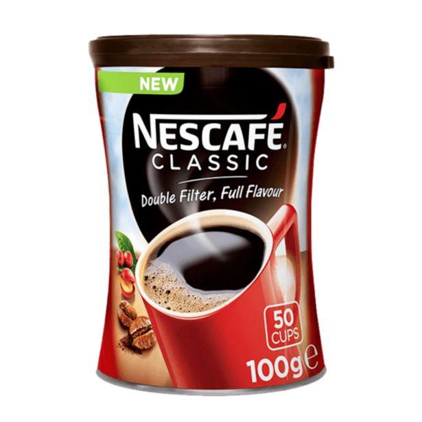 Оферта на Разтворимо кафе NESCAFE classic 100 г за 4,42 лв.