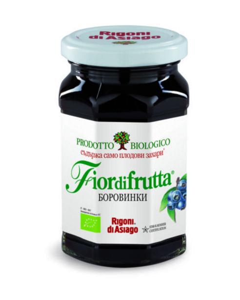 Оферта на Био конфитюр FIOR DI FRUTTA боровинка 250 г за 5,99 лв.
