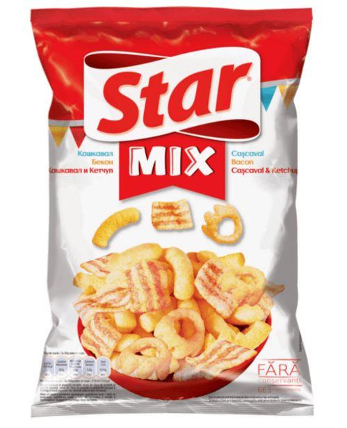 Оферта на Снакс STAR MIX сирене 90гр за 0,99 лв.