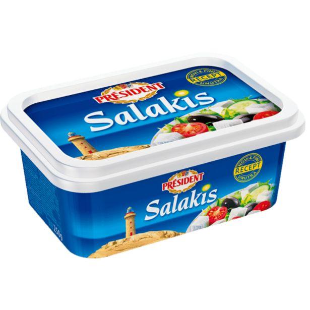 Оферта на Краве сирене PRESIDENT Салакис 250 г за 4,29 лв.