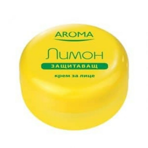Оферта на Крем за лице AROMA Лимон 75 мл за 2,99 лв.