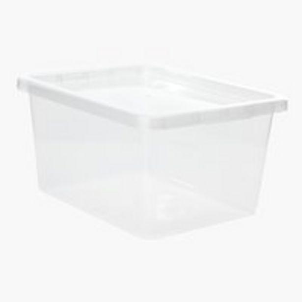 Оферта на Кутия за съхранение BASIC BOX 20л+капак за 10 лв.