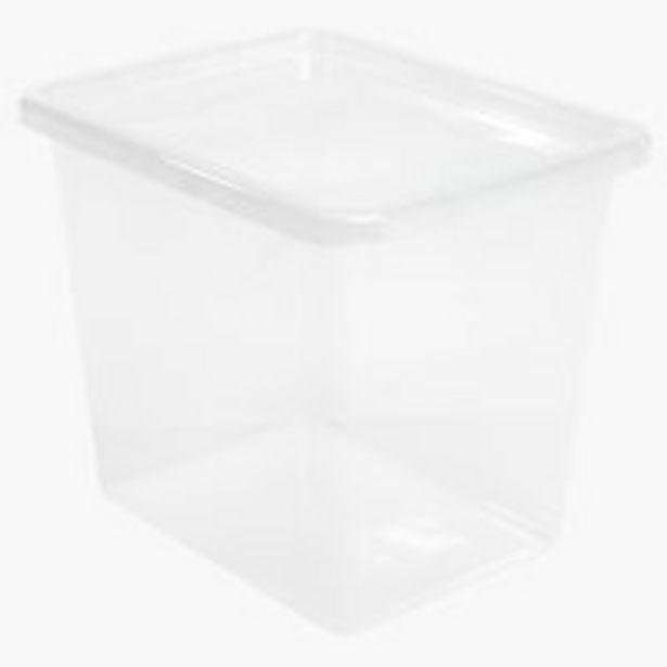 Оферта на Кутия за съхранение BASIC BOX 31л+капак за 12,5 лв.