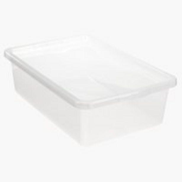 Оферта на Кутия за под легло BASIC BOX 30л+капак за 12,5 лв.