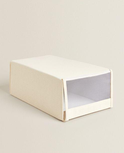 Оферта на Сгъваема Памучна Кутия За Обувки за 29,95 лв.