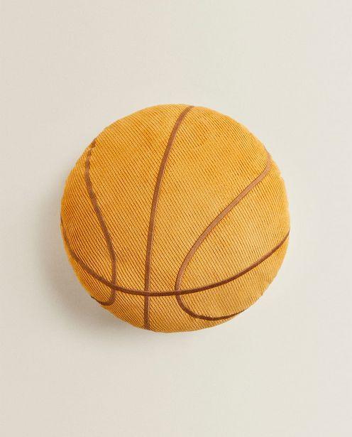 Оферта на Декоративна Възглавница С Форма На Баскетболна Топка за 39,95 лв.
