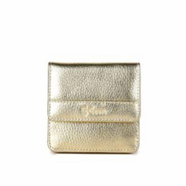 Оферта на Дамски Портфейл от Естествена Кожа ESTIL – 555 Златен за 35,9 лв.