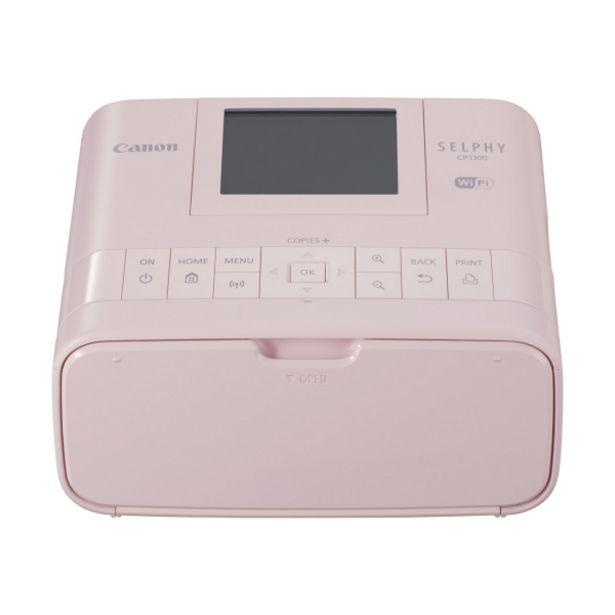 Оферта на CANON SELPHY CP1300 WIFI PHOTO PRINTER PINK за 259 лв.