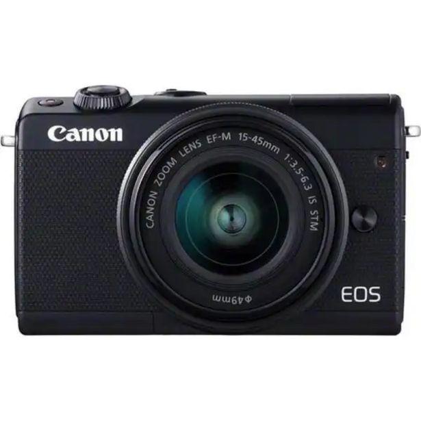 Оферта на CANON EOS M100+EFM 15-45m F/3.5-6.3 IS за 769 лв.