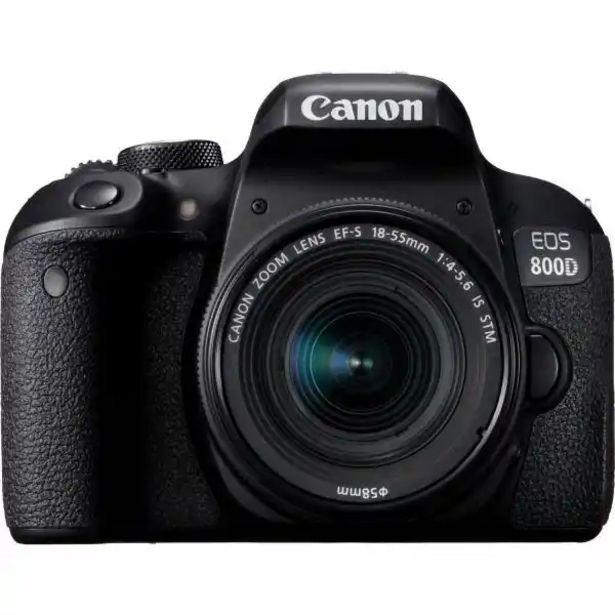 Оферта на CANON EOS 800D+EFS 18-55 IS за 1169 лв.