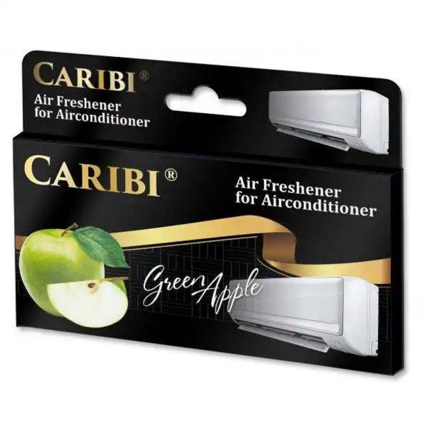 Оферта на AIR CONDITION FRESHENER CARIBI GREEN APPLE за 2,19 лв.