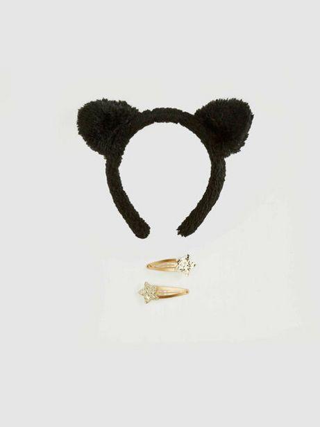 Оферта на Комплект аксесоари за коса и дидадема за момиче за 4,99 лв.