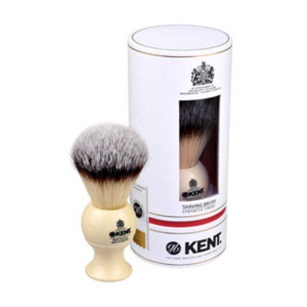 Оферта на KENT Четка за бръснене BK8S - бяла Medium Synthetic за 79,9 лв.