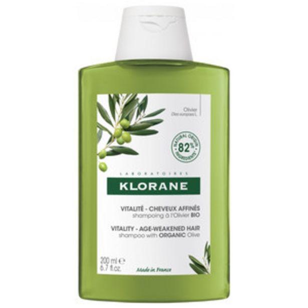 Оферта на KLORANE Шампоан за изтъняла,старееща коса с органична Маслина 200ml за 14,87 лв.