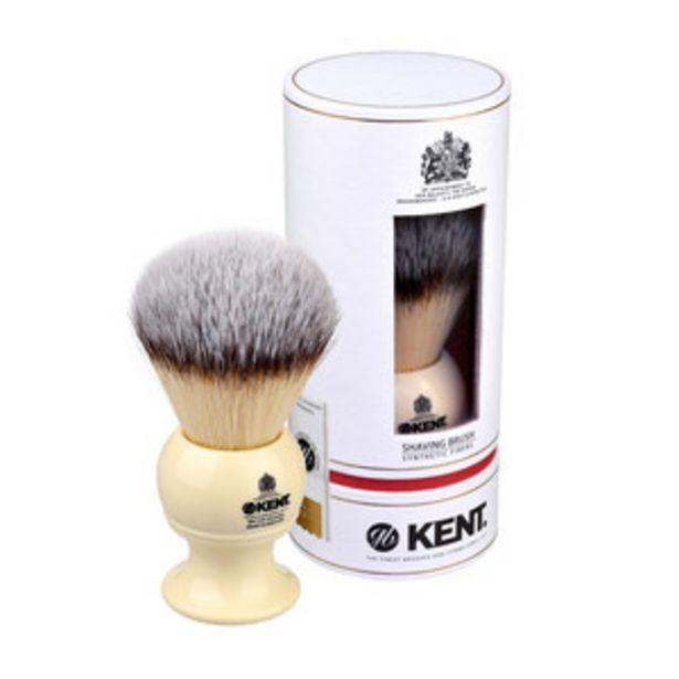 Оферта на KENT Четка за бръснене BK12S - бяла Large Synthetic за 99,9 лв.
